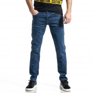 Long Slim мъжки сини дънки