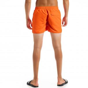 Basic мъжки оранжев бански  2