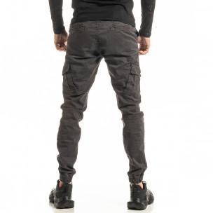 Мъжки сив Cargo Jogger панталон 2