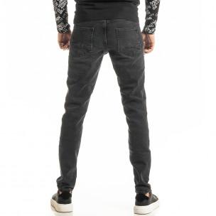 Long Slim мъжки черни дънки Blackzi 2