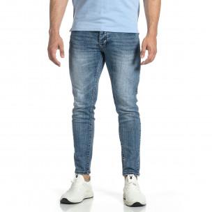 Мъжки сини дънки Vintage Capri fit  2