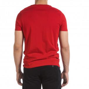 Мъжка червена тениска New York City 2