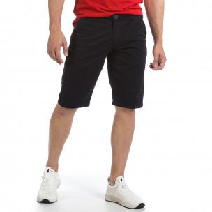 Мъжки тъмносини къси панталони & Big Size
