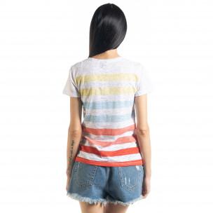 Раирана дамска тениска 2
