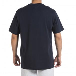 Мъжка тъмносиня тениска Givova Big Size  2