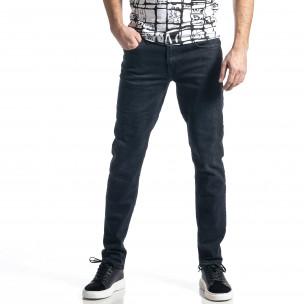 Long Slim мъжки тъмносини дънки