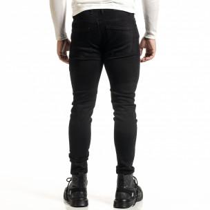 Basic мъжки черни дънки Capri fit 2