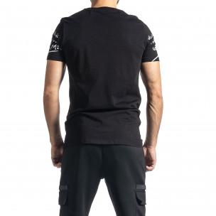 Мъжка черна тениска Mickey 2