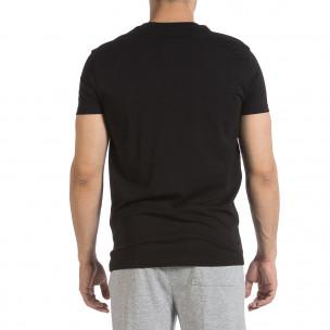 Мъжка черна тениска Sweet Years 2