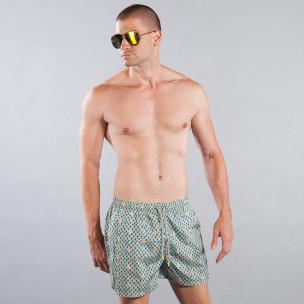 Мъжки бански с морски мотив