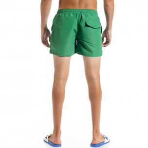 Basic мъжки зелен бански  2