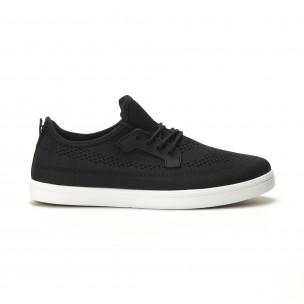 Мъжки леки спортни обувки в черно