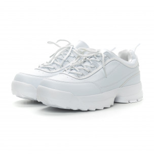 Бели мъжки Chunky маратонки  2
