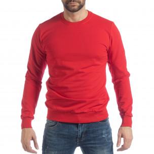 Basic мъжка червена блуза
