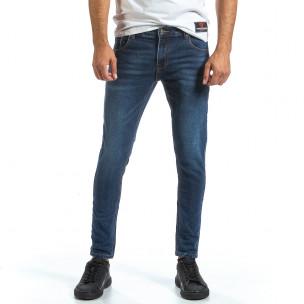 Basic Slim мъжки сини дънки