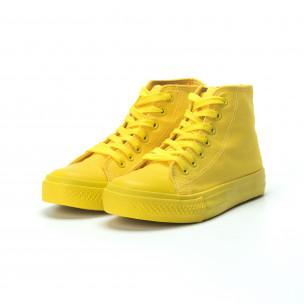 Дамски кецове в жълто 2