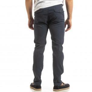Мъжки CHINO панталон в синьо 2