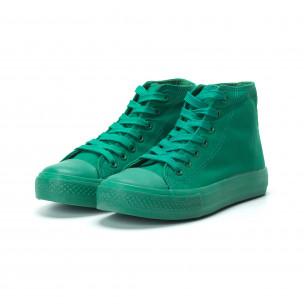 Дамски кецове в зелено  2