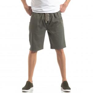 Basic мъжки къси панталони в зелено