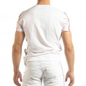 Мъжка тениска Supple в бяло   2