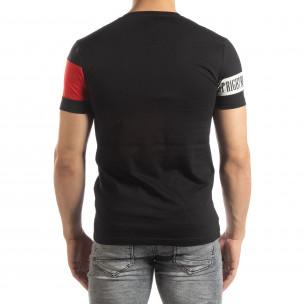 Черна мъжка тениска Be Creative  2