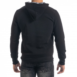 Мъжки суичър hoodie в черно Originals Top Star 2
