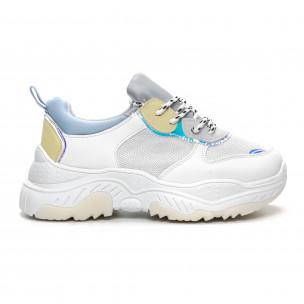 Дамски Chunky маратонки в нежни цветове