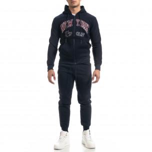 Мъжки син спортен комплект New York Sport