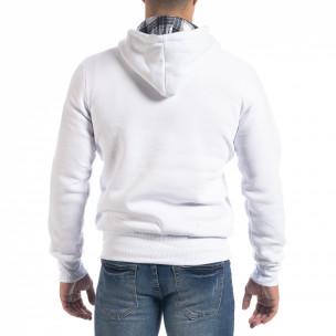 Мъжки суичър hoodie в бяло Originals  2