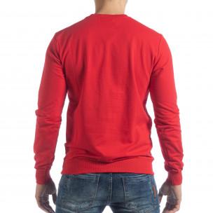 Basic мъжка червена блуза  2