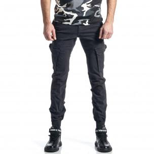 Сив панталон Cargo Jogger с ципове на крачолите