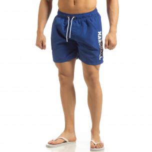 Мъжки бански Marshall в ярко синьо