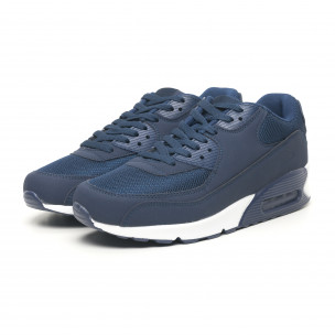 Сини мъжки маратонки с въздушна камера  2
