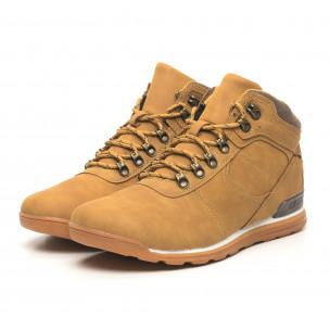 Мъжки обувки камел тип Hiker  2