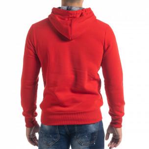 Мъжки суичър hoodie в червено Originals  2