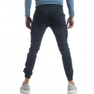 Мъжки Jogger карго панталон в синьо  2