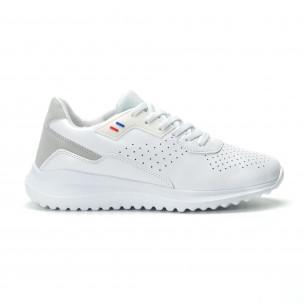 Ултралеки мъжки маратонки в бяло