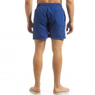 Мъжки бански Marshall в ярко синьо 2