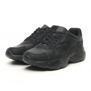 Леки мъжки маратонки All black  2