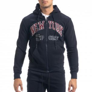 Мъжки син спортен комплект New York Sport  2