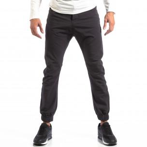 Мъжки сив лек панталон Jogger House