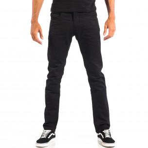 Mъжки черен панталон House