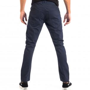 Мъжки тънък панталон CROPP в синьо 2