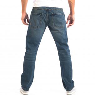 Мъжки сини дънки Vintage стил 2