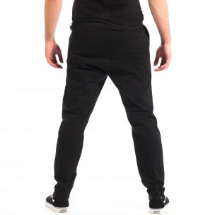 Мъжки черен Cropped Chino панталон RESERVED  2