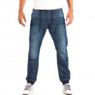 Мъжки сини дънки House Jogger