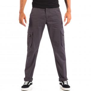 Мъжки сив Cargo панталон House