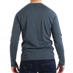 Мъжка синя блуза RESERVED Organic Cotton  2
