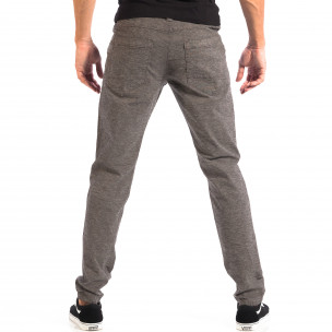 Мъжки Slim панталон RESERVED сив меланж  2