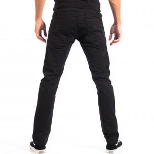Mъжки черен панталон House  2